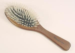 blonde bristle brush for keratin treated hair
