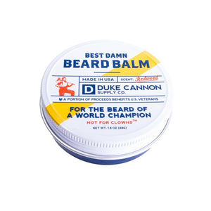 Best Damn Beard Balm, 1.6 Oz. Tin - Boyd's Madison Avenue