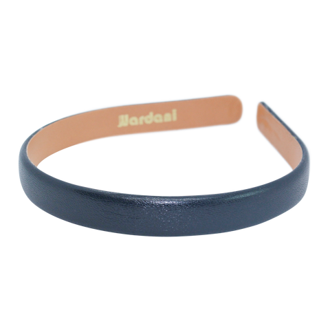 Wide Wardani Italian Leather Headband
