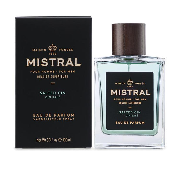 Salted Gin Eau de Parfum for Men, 3.3 Fl. Oz. - Boyd's Madison Avenue