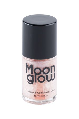 a pinkish silver liquid highlighter in a bottle