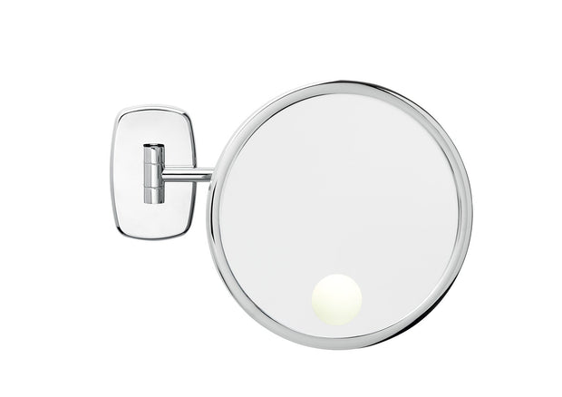 Brot REFLET 24 Spot Illuminated 9 1/2 inch Diameter Wall Mounted Makeup Mirror - Boyd's Madison Avenue