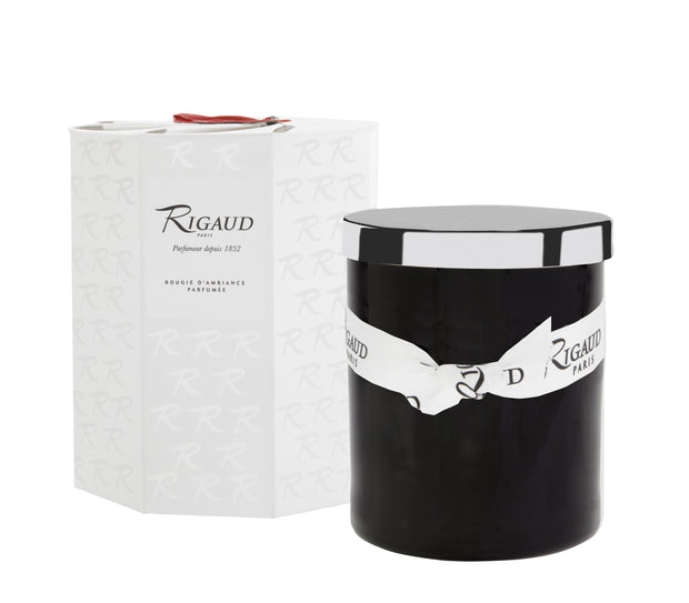 Rigaud Peche Mignon Candle with Decorative Lid, 170g - 60 Hour of Fragrance