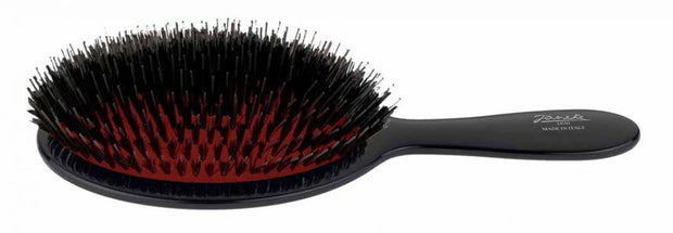 Black Janeke Brush with mixed nylon bristles