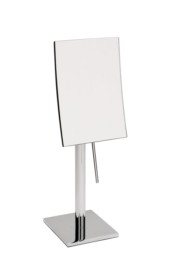 "Brot Tall Standing Square Mirror, Table Top, 7""x5"", Model 1813 AP, 3X Magnification - Boyd's Madison Avenue"