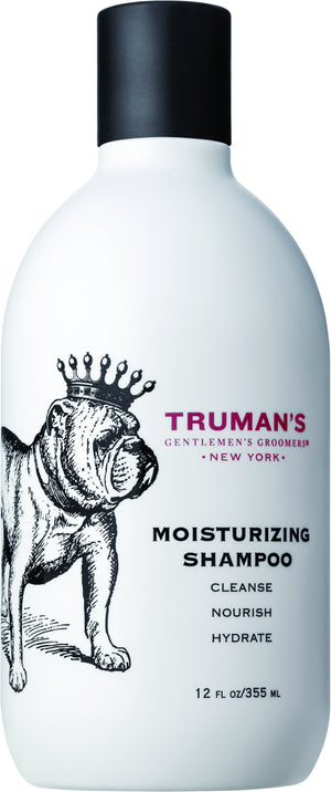 Truman's moisturizing shampoo for men