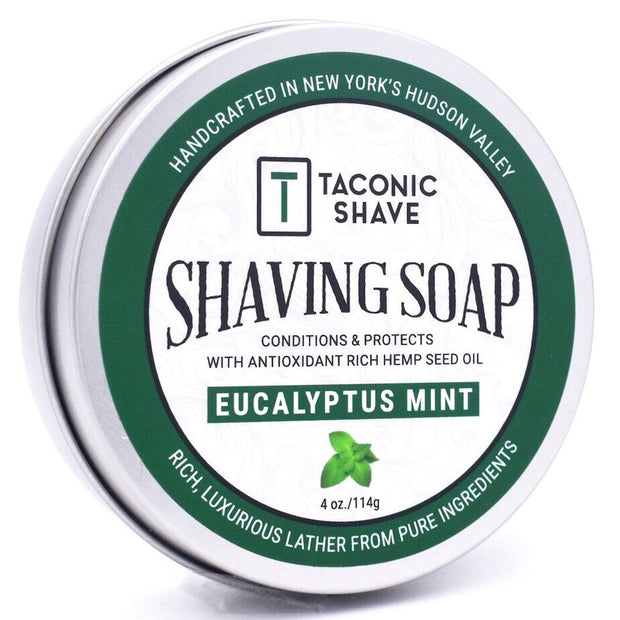 Taconic Shave Glycerin/Hemp Seed Oil Soap 4oz.