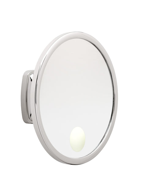 Brot VISION 24 Spot - 9 1/2 Inch Diameter Illuminated Wall Mounted Mirror