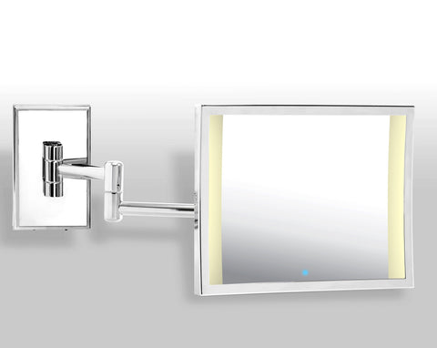 Brot AZUR Double Armed, Illuminated Mirror, 7 X 9 Inches (18 cm X 23 cm)