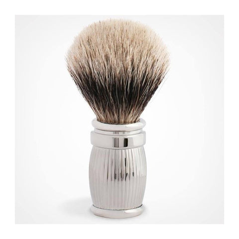 Plisson palladium badger hair shaving brush