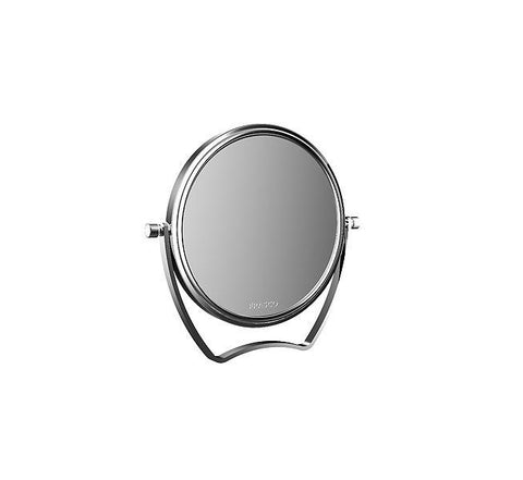 "Frasco 5 1/2"" Travel Makeup Mirror in Chrome, 5X Magnification  (834706101) - Boyd's Madison Avenue"