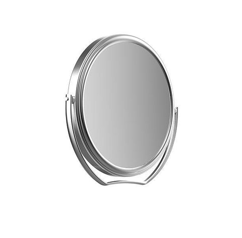 "Frasco 5"" travel makeup or shaving mirror in 5X magnification"