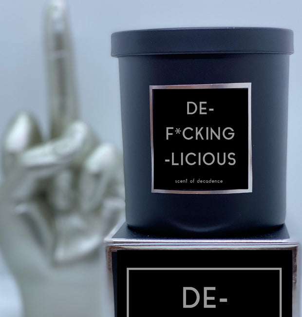 DE-F*CKING-LICIOUS Scented Candle - Boyd's Madison Avenue