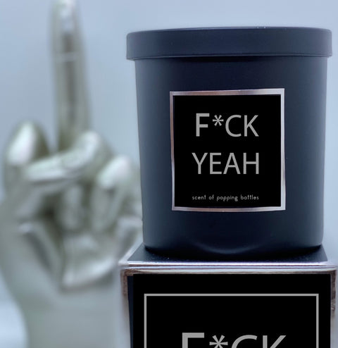 F*CK YEAH Scented Candle - Boyd's Madison Avenue