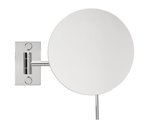 Brot ASTER Single Arm Wall Mounted Mirror , 9 Inch Diameter