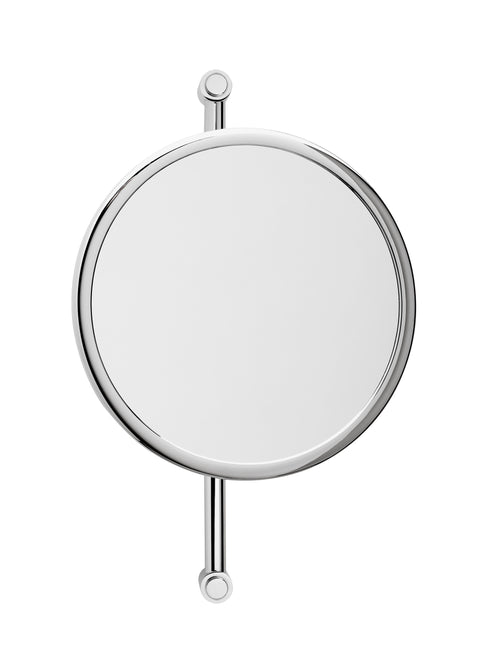 Brot Horizon 24 Wall Mounted, Adjustable Mirror, 9 1/2 Inch Diameter