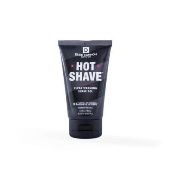 Hot Shave Clear Warming Shave Gel, 4.5 Fl. Oz.