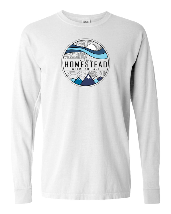 Homestead Where You Are Adult Long Sleeve