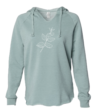 Mint - LADIES Lightweight Hooded Sweatshirt