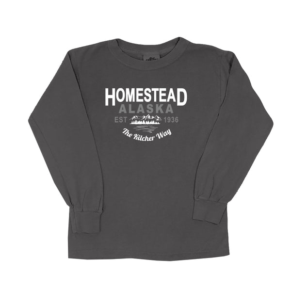 Homestead Alaska - Youth Long Sleeve