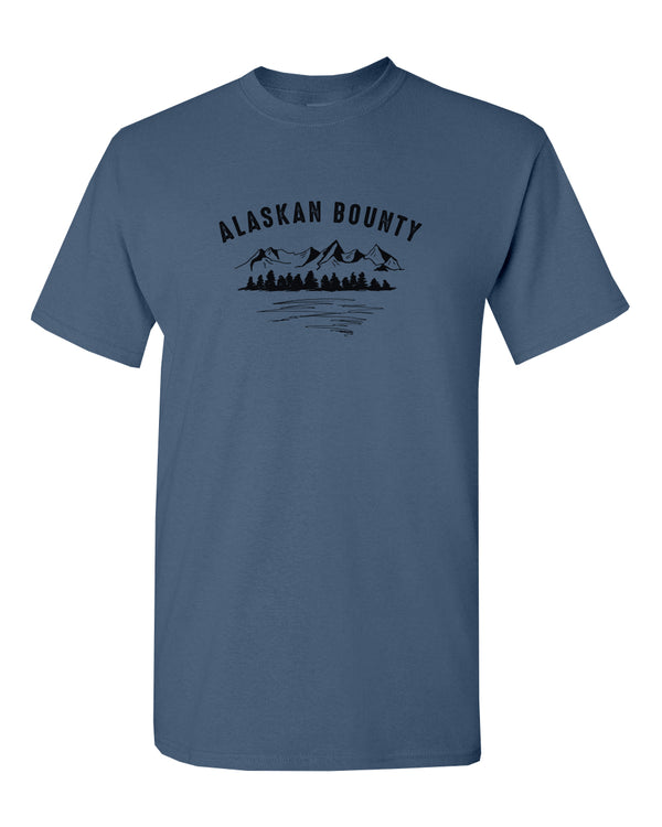 Alaskan Bounty Mountains - ADULT T-Shirt