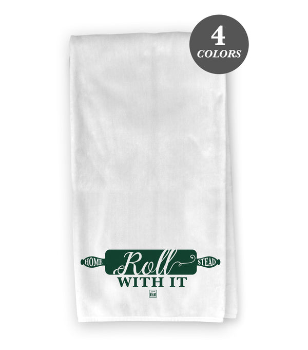Roll With It - Flour Sack Kitchen Towel