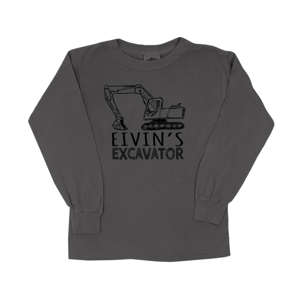 Eivin's Excavator - Youth Long Sleeve