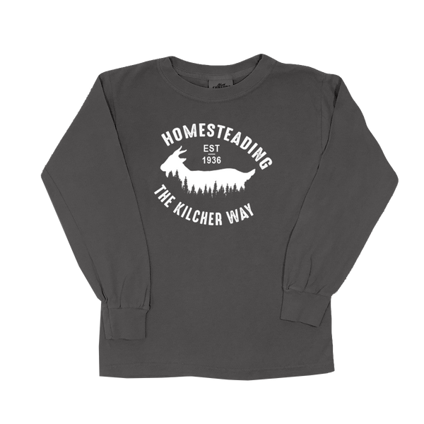 Homesteading Goat - Youth Long Sleeve