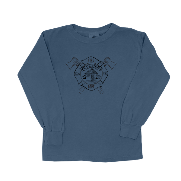 Kilcher Fire Department - Youth Long Sleeve (Brick)