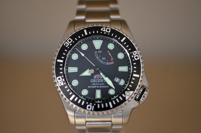 Are You Afraid of the Dark? A Look at Orient Watch Lume!