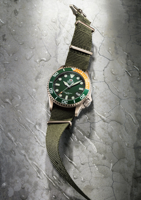 Take the Plunge with the New RA-AC0K Diver!