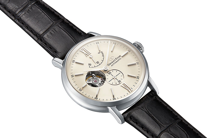 Stay Classy with this New Orient Star Semi Skeleton