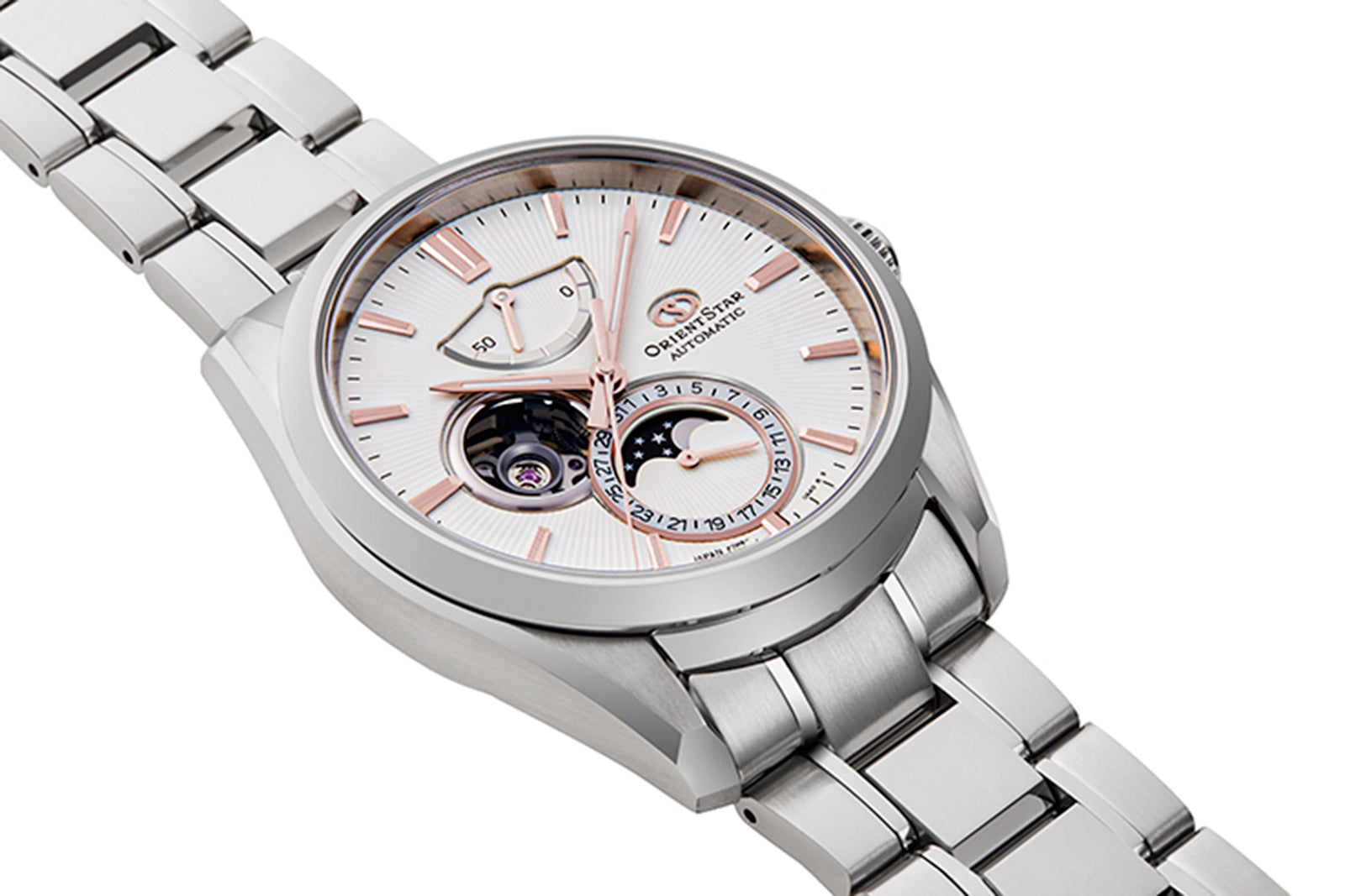 Orient Star Mechanical Moon Phase Classic Watch | RE-AY0003S00B RE-AY0003S