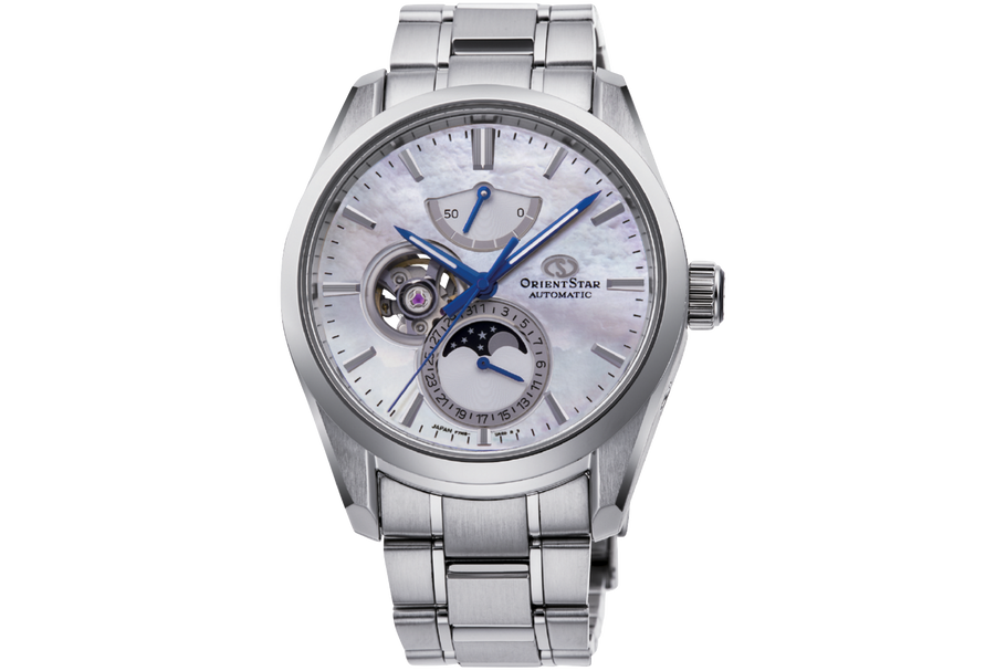 Orient Star Mechanical Moon Phase Classic Watch | RE-AY0005A00B RE-AY0005A