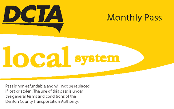 Local System Monthly Pass