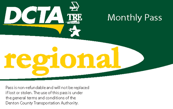 Regional Monthly Pass