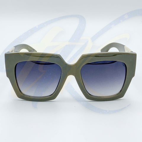Amped Up - Army Green - The Kaya Kollection  -  - The Kaya Kollection