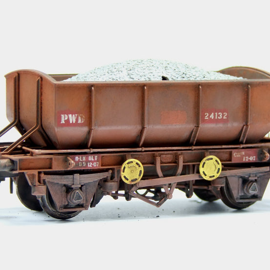 Ballast Wagons Arrive with Pack A available once again!