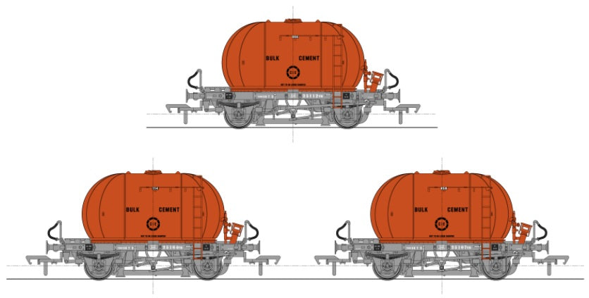 Irish Railway Models to Release Cement Bubble in Iconic Orange Livery