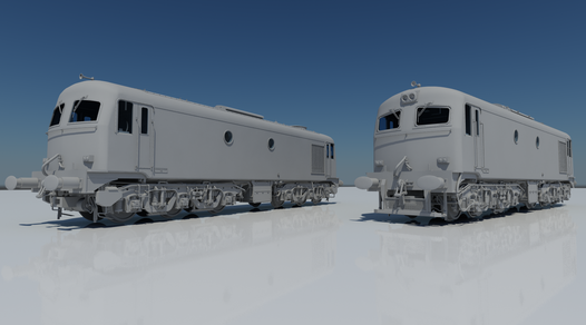 Announcing A Class; Our First Locomotive!