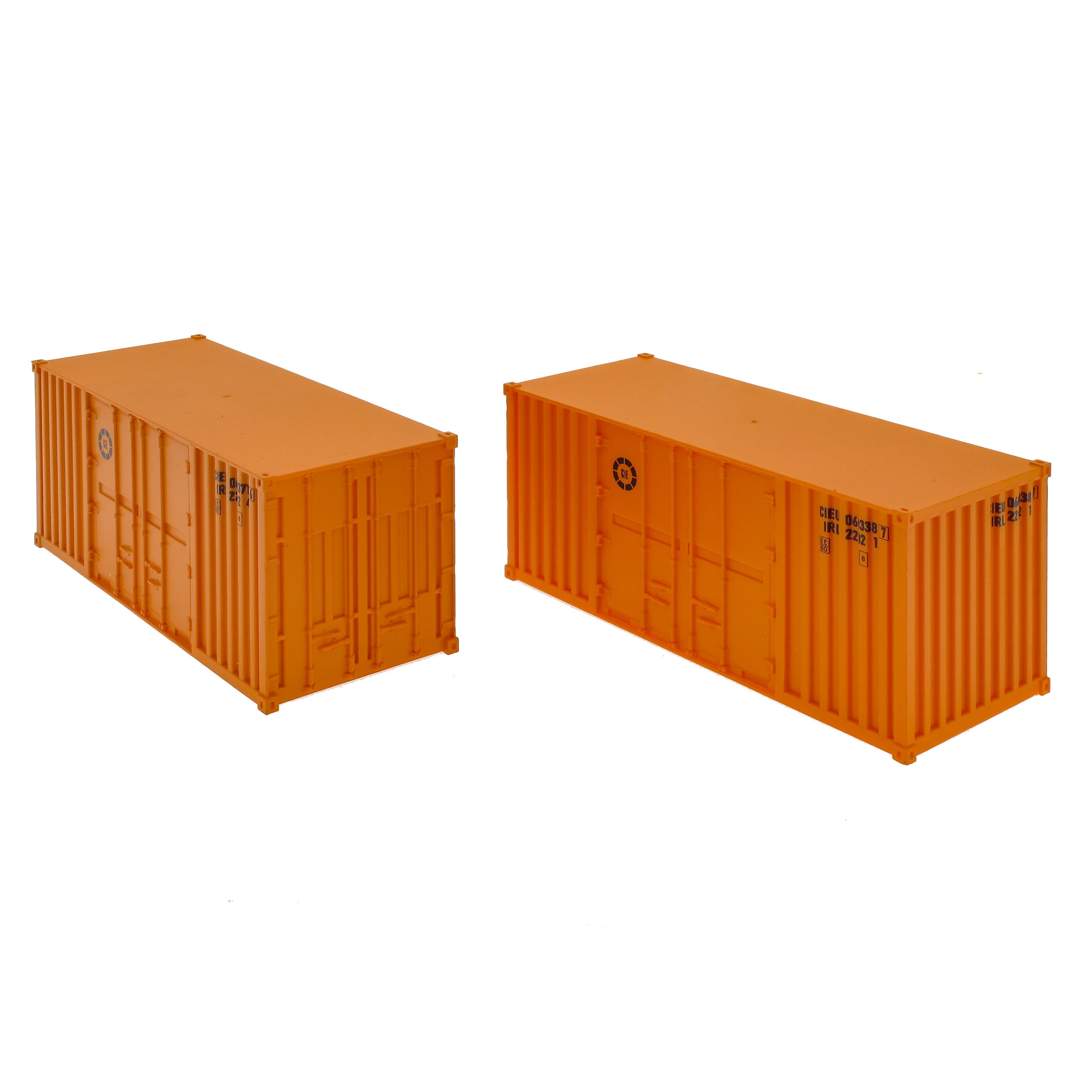 CIE 20' Container Twin Pack