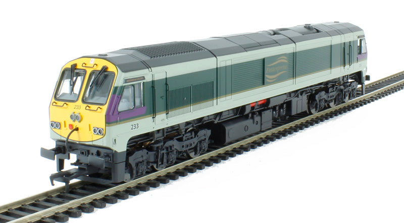233 - Class 201 Locomotive - Enterprise Full Yellow End