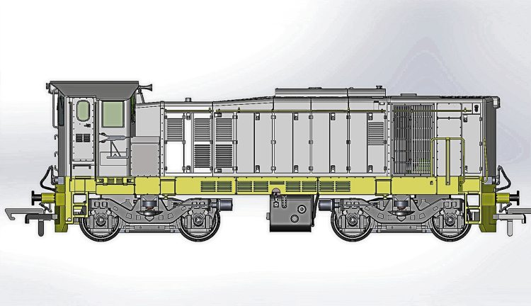 133 - Class 121 Locomotive - Irish Rail