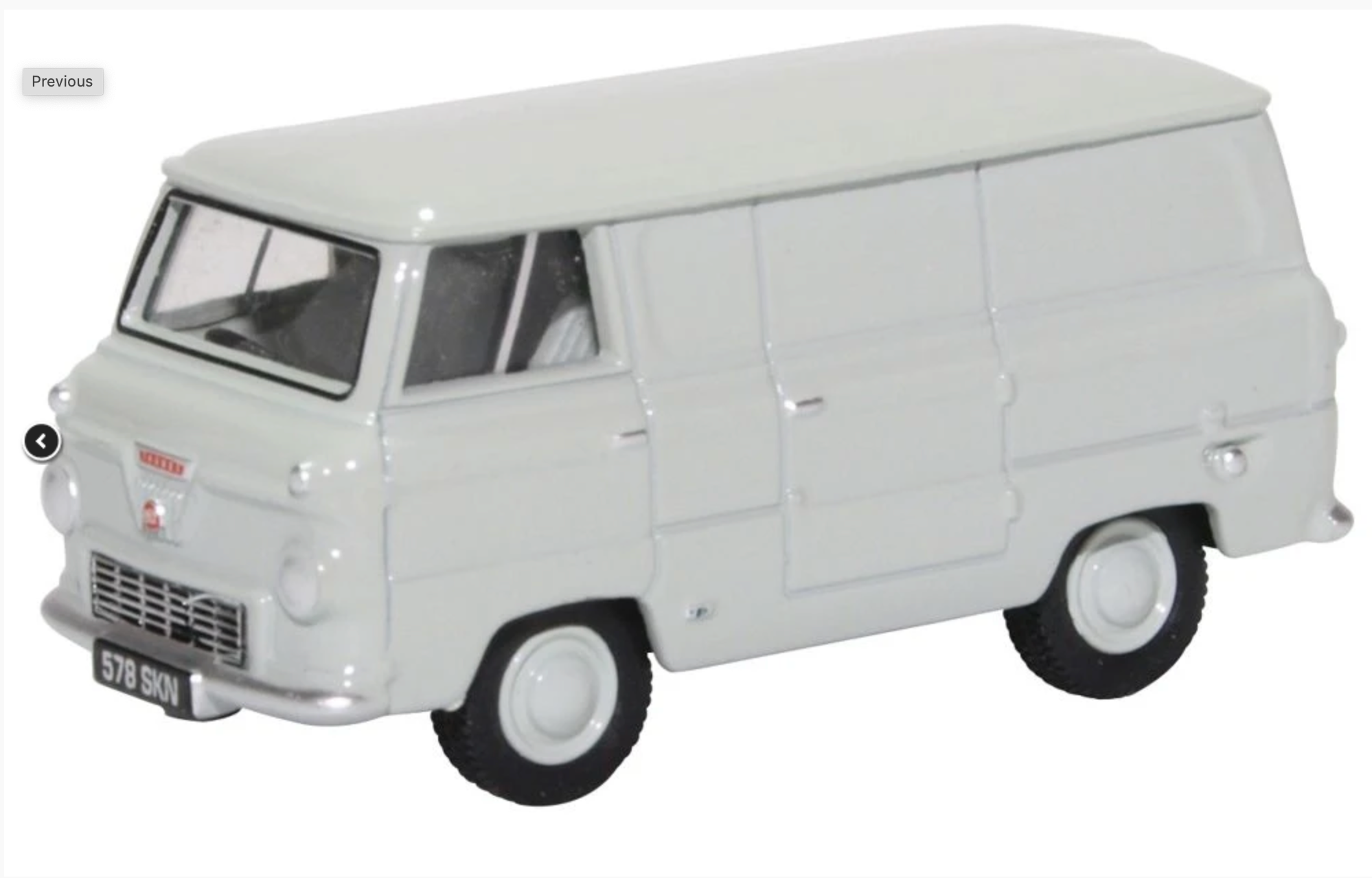 Ford 400E Van Cargo Grey