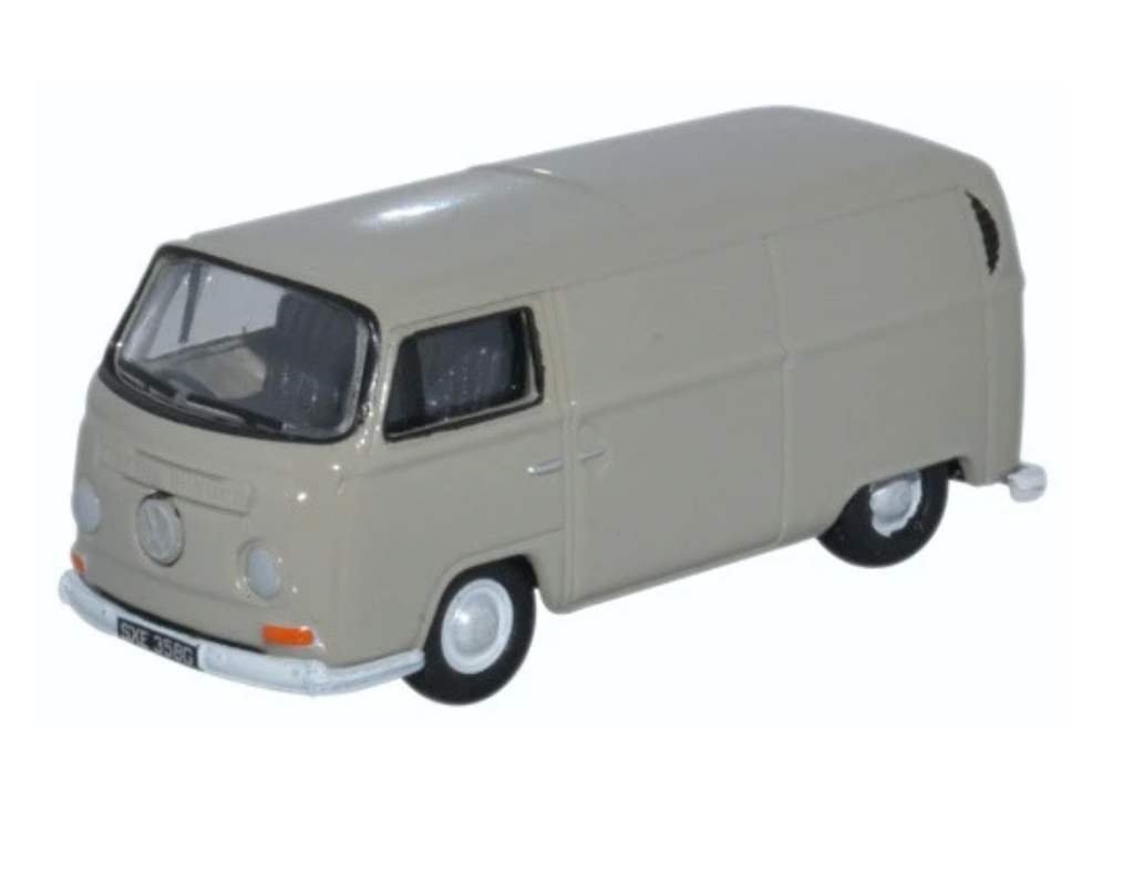 VW T2 Bay Window Van - Lt Grey