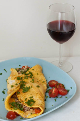 An Omlette &. Glass of Wine 11/10/20