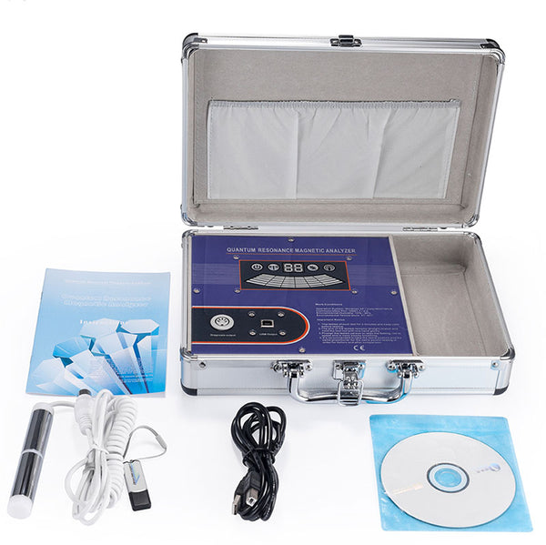 Free shipping!!! JYtop 3th Generation Quantum Magnetic Resonance and Meridian Bio Analyzer Human Body Analyzer