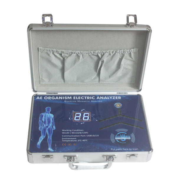 JYtop 2019 Quantum Magnetic Resonance Body Analyzer with 9th Generation Version