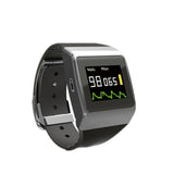 JYTOP Watch CMS50K Wearable SpO2, PR, ECG,pedometer,clock Monitor