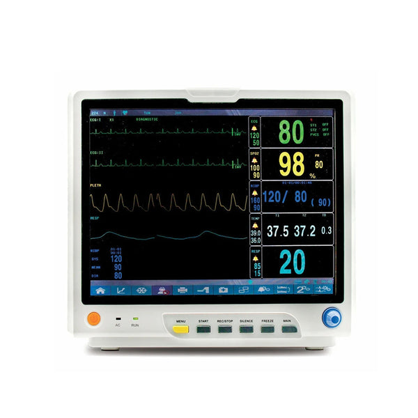 "JYTOP 15"" CMS9200 Multi-Parameter ICU CCU Patient Monitor"